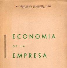 Libros de segunda mano: ECONOMIA DE LA EMPRESA. Lote 64366843
