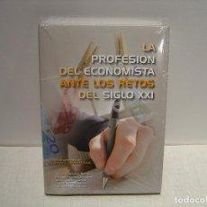 Libros de segunda mano: LA PROFESION DEL ECONOMISTA ANTE LOS RETOS DEL SIGLO XXI - VV. AA. - UNIVERSIDAD DE VALLADOLID. Lote 64815119