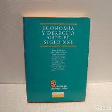 Libros de segunda mano: ECONOMIA Y DERECHO ANTE EL SIGLO XXI -VV.AA - LEXNOVA 2001. Lote 64815147