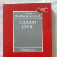 Libros de segunda mano: CÓDIGO CIVIL. Lote 66799550
