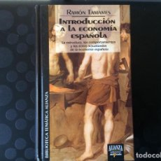 Libros de segunda mano: INTRODUCCION A LA ECONOMIA ESPAÑOLA.- RAMON TAMAMES. Lote 66927234