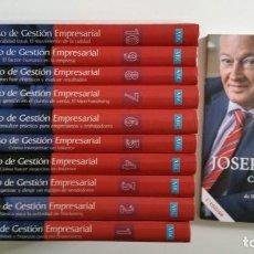 Libros de segunda mano: CURSO DE GESTION EMPRESARIAL. 10 TOMOS DEUSTO - MÁS LIBRO CAMBIO DE ERA DE JOSEP PIQUE. Lote 67816785