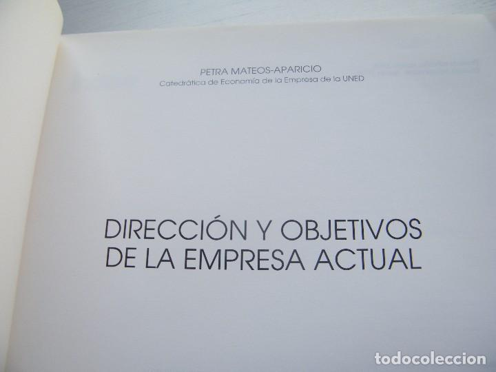 Libros de segunda mano: DIRECCIÓN Y OBJETIVOS DE LA EMPRESA ACTUAL - PETRA MATEOS - CENTRO DE ESTUDIOS RAMÓN ARECES (1999) - Foto 3 - 68352989