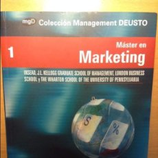 Libros de segunda mano: MASTER EN MARKETING - COLECCION MANAGEMENT DEUSTO -. Lote 69427325
