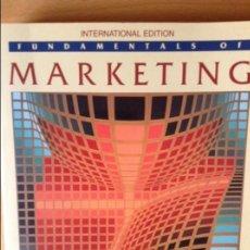 Libros de segunda mano: FUNDAMENTALS OF MARKETING - WILLIAM J. STANTON -. Lote 70374309