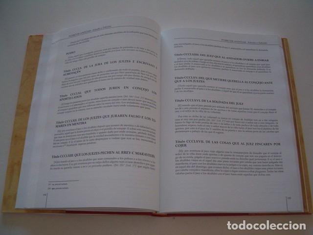 Libros de segunda mano: PABLO QUESADA HUERTAS (CCORD.). Fuero de Andújar. Estudio y Edición. RM78050. - Foto 3 - 70465793