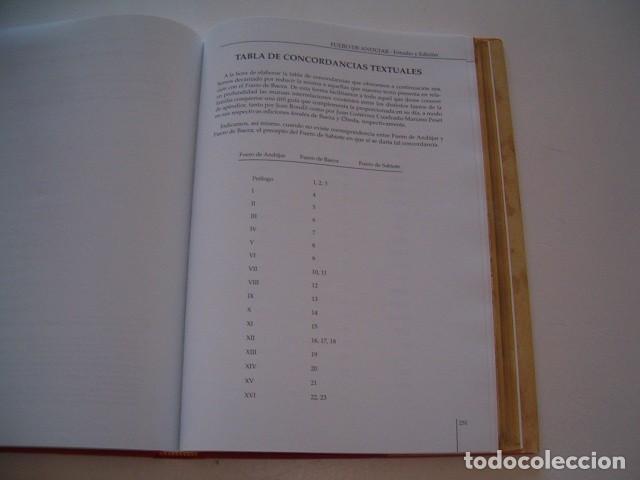 Libros de segunda mano: PABLO QUESADA HUERTAS (CCORD.). Fuero de Andújar. Estudio y Edición. RM78050. - Foto 4 - 70465793