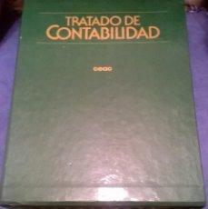 Libros de segunda mano: TRATADO DE CONTABILIDAD 4 TOMOS CEAC. Lote 72146435