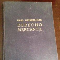 Libros de segunda mano: DERECHO MERCANTIL. Lote 72720531