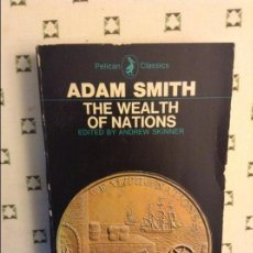 Libros de segunda mano: THE WEALTH OF NATIONS - ADAM SMITH -. Lote 73525359