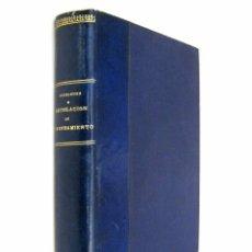 Libros de segunda mano: 1942 - (DERECHO) -RODRIGUEZ-JURADO: COMENTARIOS A LA LEGISLACIÓN DE ARRENDAMIENTO DE FINCAS RÚSTICAS. Lote 74320211