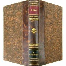 Libros de segunda mano: 1943 - CARDENAL GOMÁ - EL MATRIMONIO. EXPLICACIÓN DIALOGADA DE LA ENCÍCLICA CASTI CONNUBII. Lote 90528792