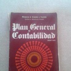 Libros de segunda mano: PLAN GENERAL DE CONTABILIDAD - MINISTERIO DE ECONOMIA Y HACIENDA - 7ª EDICIÓN DE 1983. Lote 74942403