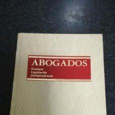 Libros de segunda mano: ABOGADOS, ARANZADI 1993. Lote 75102979