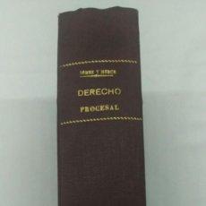Libros de segunda mano: DERECHO PROCESAL CIVIL, EMILIO GOMEZ ORBANEJA,. Lote 75103975