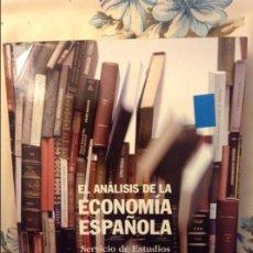Libros de segunda mano: EL ANALISIS DE LA ECONOMIA ESPAÑOLA - SERVICIO DE ESTUDIOS DEL BANCO DE ESPAÑA -. Lote 75122571