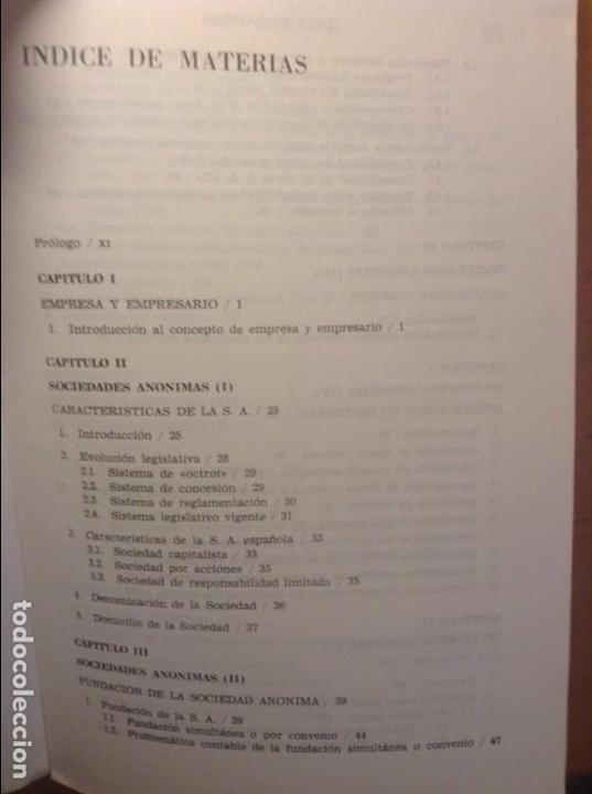 Libros de segunda mano: CONTABILIDAD DE SOCIEDADES - JOSE RIVERO - - Foto 3 - 75128883