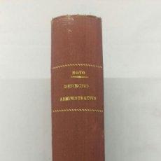 Libros de segunda mano: ELEMENTOS DE DERECHO ADMINISTRATIVO, . Lote 75264991