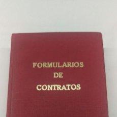 Libros de segunda mano: FORMULARIO DE CONTRATOS, MANUEL GARCIA CORACHAN . Lote 97052742