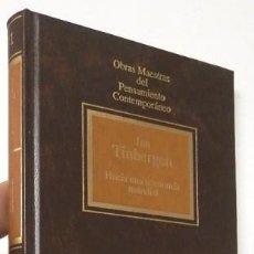 Libros de segunda mano: HACIA UNA ECONOMÍA MUNDIAL - JAN TINBERGEN. Lote 76067119