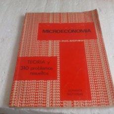 Libros de segunda mano: MICROECONOMÍA DOMINICK SALVATORE. TEORÍA Y 310 PROBLEMAS RESUELTOS. 1976 MCGRAW HILL. Lote 77100089