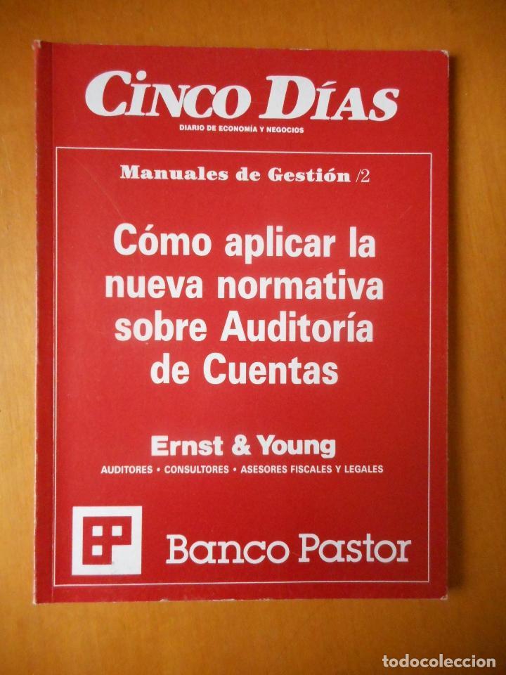 Libros de segunda mano: Manuales de Gestión. Cinco Días. Colección Completa, 9 tomos. Año 1989. Ver relación. - Foto 3 - 77555933