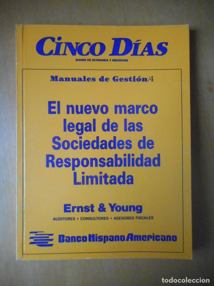 Libros de segunda mano: Manuales de Gestión. Cinco Días. Colección Completa, 9 tomos. Año 1989. Ver relación. - Foto 5 - 77555933