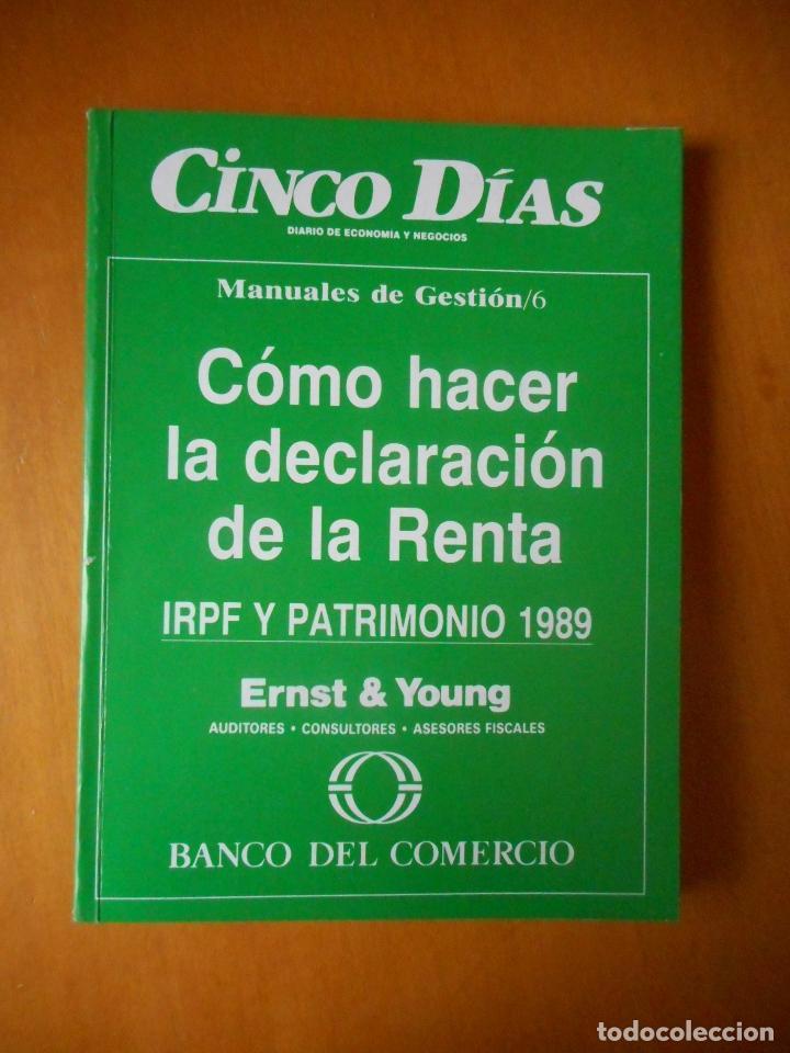 Libros de segunda mano: Manuales de Gestión. Cinco Días. Colección Completa, 9 tomos. Año 1989. Ver relación. - Foto 7 - 77555933