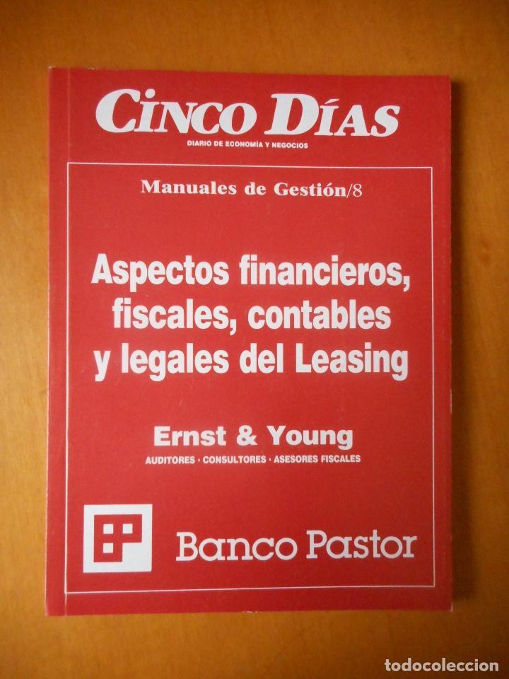 Libros de segunda mano: Manuales de Gestión. Cinco Días. Colección Completa, 9 tomos. Año 1989. Ver relación. - Foto 9 - 77555933