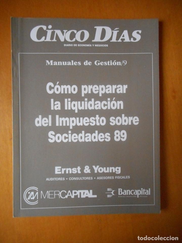 Libros de segunda mano: Manuales de Gestión. Cinco Días. Colección Completa, 9 tomos. Año 1989. Ver relación. - Foto 10 - 77555933