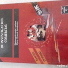 Libros de segunda mano: FUNDAMENTOS Y TECNICAS DE INVESTIGACION COMERCIAL-ESIC EDITORIAL-1995-I.GRANDE/E.ABASCAL. Lote 77624265