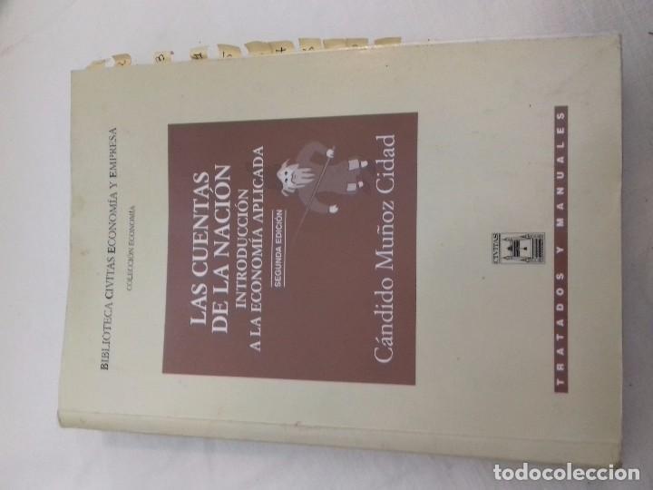 LAS CUENTAS DE LA NACION-INTRODUCCION ECONOMIA APLICADA-CANDIDO MUÑOZ-CIVITAS TRATADOS Y M. 2000 (Libros de Segunda Mano - Ciencias, Manuales y Oficios - Derecho, Economía y Comercio)