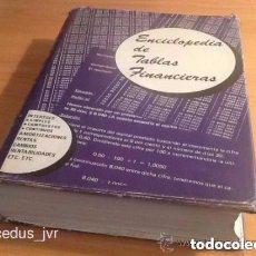 Libros de segunda mano: ENCICLOPEDIA DE TABLAS FINANCIERAS LIBRO BUROTEL S.A. EDITORIAL MENDEZ MANZANAL 1969. Lote 80525289