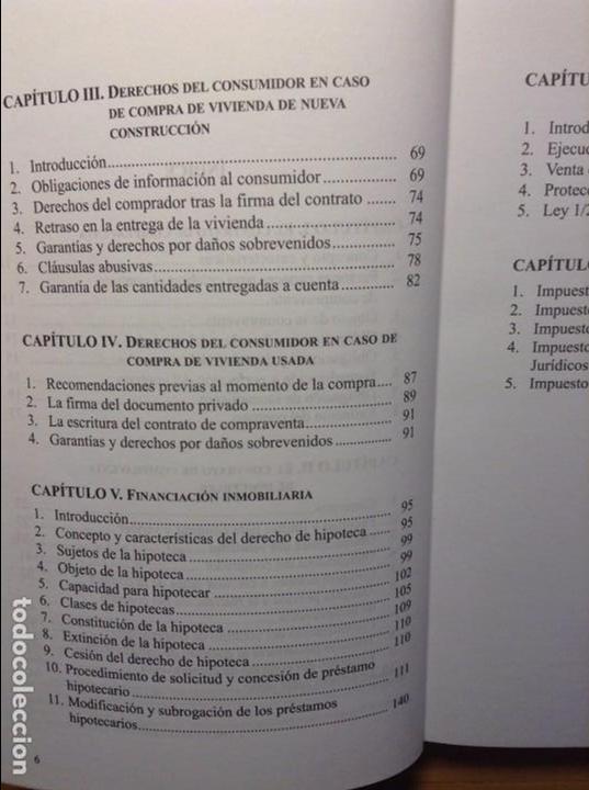 Libros de segunda mano: LA COMPRAVENTA INMOBILIARIA - ISABEL PEREZ SOLANO - - Foto 4 - 81136904