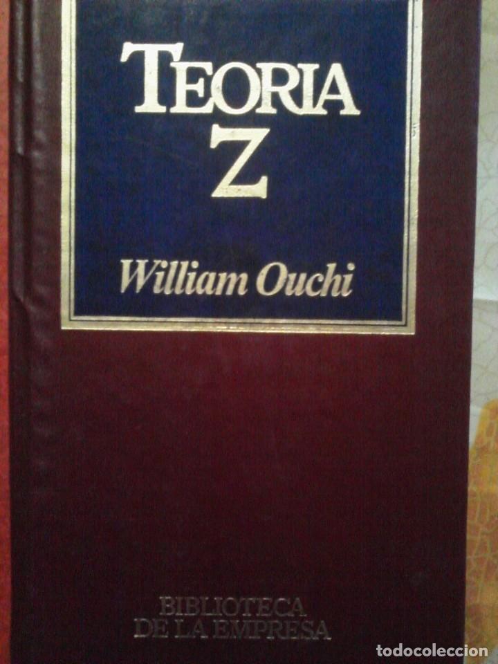 libro teoria z william ouchi