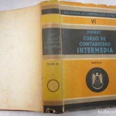Libros de segunda mano: CURSO DE CONTABILIDAD INTERMEDIA - FINNEY - TOMO III MEXICO 1953, 441PAG - PREGUNTAS RESPUESTAS. Lote 84341632