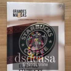 Libros de segunda mano: GRANDES MARCAS, CASOS EMPRESARIALES DE ÉXITO: EL ESTILO STARBUCKS - LIBRO TOTALMENTE NUEVO . Lote 86488004