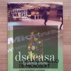 Libros de segunda mano: GRANDES MARCAS, CASOS EMPRESARIALES DE ÉXITO: EL RELANZAMIENTO? DE MICROSOFT - LIBRO NUEVO. Lote 86488988