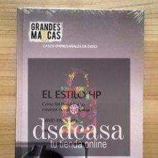 Libros de segunda mano: GRANDES MARCAS, CASOS EMPRESARIALES DE ÉXITO: EL ESTILO HP - LIBRO TOTALMENTE NUEVO. Lote 86489484
