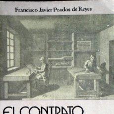 Libros de segunda mano: EL CONTRATO DE APRENDIZAJE. FRANCISCO JAVIER PRADOS DE REYES.. Lote 87503404