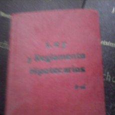 Libros de segunda mano: LEY Y REGLAMENTO HIPOTECARIOS. Lote 90174944