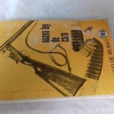 Libri di seconda mano: NUEVA LEY DE CAZA-1970-BANCO DE BILBAO. Lote 90552780