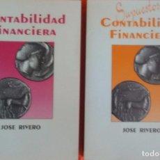 Libros de segunda mano: CONTABILIDAD FINANCIERA Y SUPUESTOS CONTABILIDAD FINANCIERA - 2 TOMOS. Lote 91763315