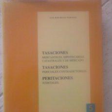 Libros de segunda mano: TASACIONES INMOBILIARIAS. EJEMPLOS PRÁCTICOS. LUIS JOSÉ SILVÁN MARTÍNEZ.. Lote 93143242