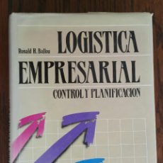 Libros de segunda mano: LOGÍSTICA EMPRESARIAL - CONTROL Y PLANIFICACIÓN. Lote 93187945