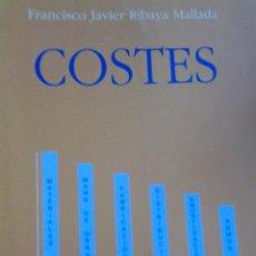 Libros de segunda mano: COSTES. Lote 93788815