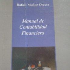Libros de segunda mano: MANUAL DE CONTABILIDAD FINANCIERA. Lote 93790865
