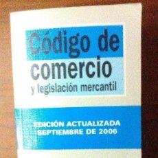 Libros de segunda mano: CÓDIGO DE COMERCIO Y LEGISLACIÓN MERCANTIL. Lote 94717371