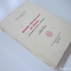 Libros de segunda mano: GARCÍA VALDÉS. RÉGIMEN PENITENCIARIO DE ESPAÑA: INVESTIGACIÓN HISTÓRICA Y SISTEMÁTICA. 1975. Lote 95872519