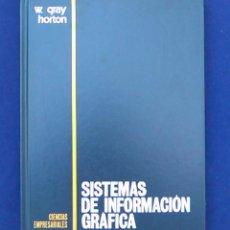 Libros de segunda mano: SISTEMAS DE INFORMACIÓN GRÁFICA. W. GRAY HORTON. CIENCIAS EMPRESARIALES. EDICIONES PIRÁMIDE. 1974.. Lote 96414995
